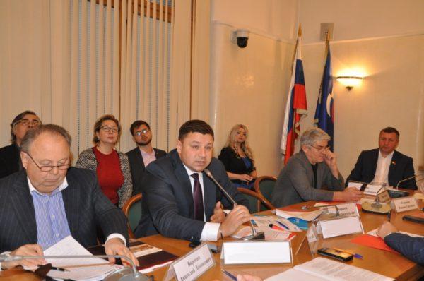 Заседание Экспертного совета при Комитете Государственной Думы по транспорту и строительству.