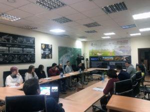 Выездное заседание базовой кафедры ГУЗ Цифровое землеустройство