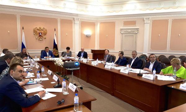Заседание Комиссии Общественного совета по обеспечению открытости деятельности Росреестра под председательством Николая Алексеенко