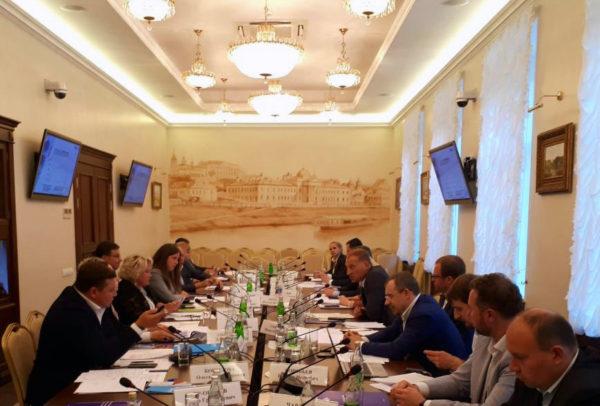 На площадке Российского союза промышленников и предпринимателей состоялось совместное заседание Комиссии по строительству и жилищной политики РСПП и Рабочей группы Агентства стратегических инициатив по строительству