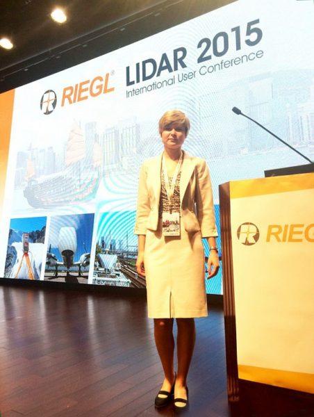 Международная пользовательская конференция RIEGL LiDAR 2015