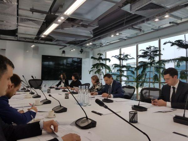 Совещание экспертной рабочей группы по совершенствованию контрольно-надзорной деятельности в сфере строительства на площадке АИЖК