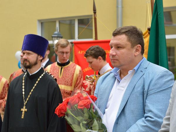 Открытие памятника С.Т.Аксакову – основателю Государственного университитета по землеустройству