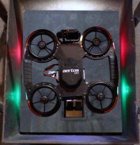Инспекция промышленных объектов с помощью дронов Aertos